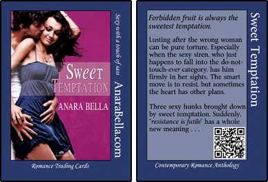 Sweet Temptation Romance Trading Card